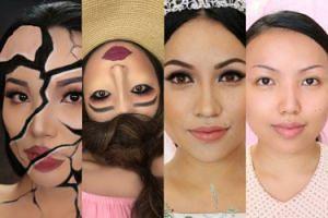 Blogerka tworzy niezwykłe iluzje za pomocą makijażu. Robią wrażenie? (ZDJĘCIA)