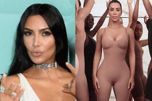 """Kim Kardashian promuje autorskie majtki wyszczuplające: """"Od 15 lat się tym pasjonuję"""""""
