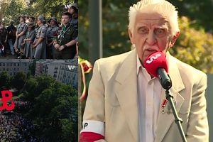 """Wzruszony powstaniec dziękuje za pamięć o 1 sierpnia: """"Tyle osób pamięta i chciało poświęcić czas"""""""