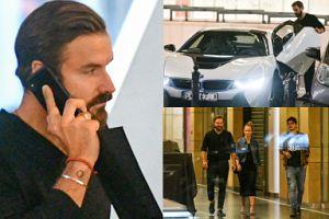 Modny Stramowski bez skarpetek jeździ BMW za prawie 700 tysięcy złotych. MĘSKI? (ZDJĘCIA)
