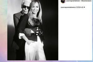 Joanna Przetakiewicz wspomina Karla Lagerfelda