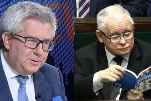 """Ryszard Czarnecki o prezentach dla Jarosława Kaczyńskiego: """"Bardzo dużo czyta i lubi książki"""""""