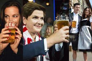 Dziś Międzynarodowy Dzień Piwa. Zobaczcie, jak złotym trunkiem raczą się gwiazdy (ZDJĘCIA)
