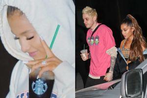 """Ariana Grande oddała Pete'owi pierścionek zaręczynowy wart 100 tysięcy dolarów. """"Był zrobiony specjalnie dla niej, na zamówienie"""""""