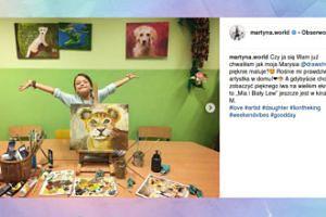 Martyna Wojciechowska podziwia talent córki
