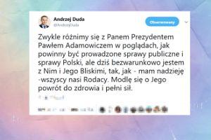 Prezydent Andrzej Duda komentuje atak na Pawła Adamowicza