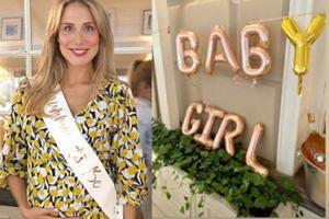 Luksusowe baby shower Natalii Klimas: złote balony, tort z zimnymi ogniami i 25 przyjaciółek (FOTO)