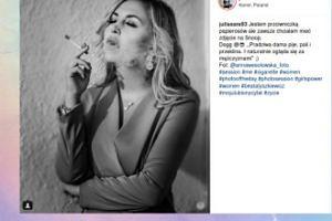"""Lady """"Sara"""" papierosa jara"""