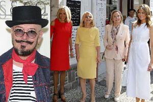 Tomasz Jacyków ocenił stroje żon polityków ze szczytu G7. Trzy pochwalił, jeden zmieszał z błotem