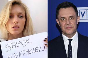 """Dziennikarz TVP atakuje Anję Rubik: """"Ona jakaś taka TROCHĘ BRZYDKA, jak na modelkę, co?"""""""