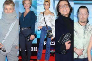 Drugoligowi celebryci otwierają salę kinową: Felicjańska z miłością życia, zakochani Zamachowscy i Racewicz w stroju ninja (ZDJĘCIA)