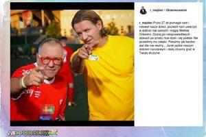 Majdan wspomina zdjęcie z Owsiakiem