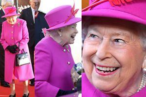 92-letnia królowa Elżbieta II zachwyca formą w fuksjowym płaszczyku (ZDJĘCIA)