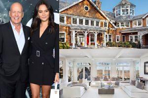 Bruce Willis i Emma Heming sprzedają posiadłość pod Nowym Jorkiem! Ładnie mieszkali? (ZDJĘCIA)