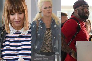 """Uczestnicy """"Ameryka Express"""" na lotnisku. Zdziwiona Pisarek, przeżuwający gumę Różal i zagubiona """"Żona Hollywood"""" (ZDJĘCIA)"""