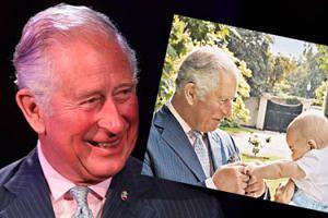 Pokazano NIEPUBLIKOWANE dotąd zdjęcie księcia Karola z wnuczkiem Louisem! Urocze?