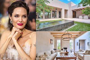 Angelina Jolie wynajęła dla siebie i sześciorga dzieci dom w Nowym Meksyku! (ZDJĘCIA)