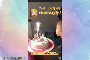 Ania Wyszkoni świętuje 7. urodziny córki