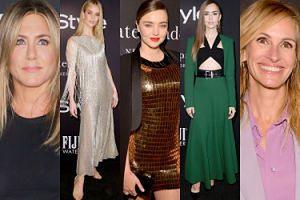 Jennifer Aniston, Julia Roberts i Miranda Kerr bawią się na rozdaniu nagród (ZDJĘCIA)