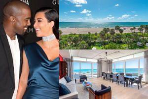 Kanye West kupił Kim Kardashian apartament w Miami Beach! Za 15 milionów dolarów... (ZDJĘCIA)