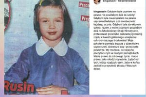 Kinga Rusin proponuje strajk