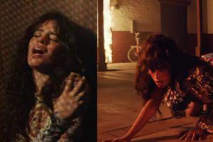 WILGOTNA Camila Cabello wije się zmysłowo w konfesjonale. Śpiewa o Shawnie Mendesie?