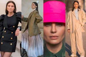 """Joanna Horodyńska walczy o tytuł """"ikony mody"""" na paryskim Fashion Weeku. Stylowa? (ZDJĘCIA)"""