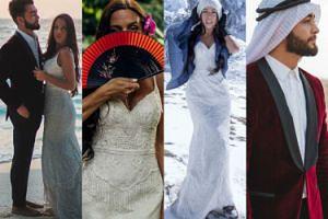 Nowożeńcy robią sobie zdjęcia ślubne w podróży dookoła świata! Odwiedzili już... 34 kraje (ZDJĘCIA)