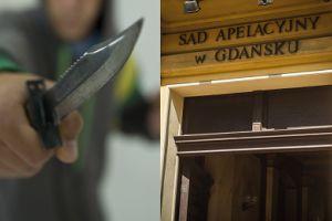 Do Sądu Apelacyjnego w Gdańsku wtargnął mężczyzna przebrany za Rambo! Miał nóż