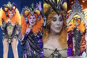 72-letnia (!) Cher w stroju wojowniczki podbija scenę na Florydzie (ZDJĘCIA)