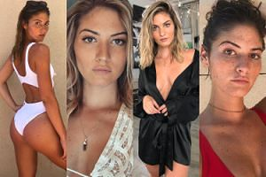"""Tak wygląda Shauna Sexton, modelka """"Playboya"""" i kochanka Bena Afflecka. Seksowna? (ZDJĘCIA)"""