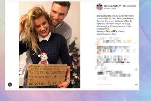 Zborowska i Wrona na pierwszym wspólnym zdjęciu na Instagramie zachęcają do wpłaty na fundację