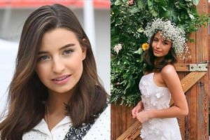 """Julia Wieniawa pokazała się w """"sukni ślubnej"""". Fani: """"Jaki piękny wianek!"""""""