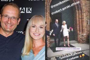 Robert Górski i Monika Sobień wzięli ślub! Kabareciarz spełni swoją obietnicę?