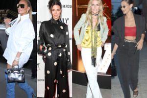 Najciekawsze stylizacje minionego tygodnia: Markowska, Jenner, Lopez… (ZDJĘCIA)