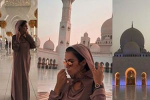 """Natalia Siwiec pozuje w meczecie: """"Najpiękniejsza budowla jaką widziałam"""""""