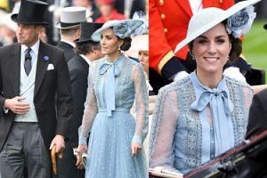 Eleganccy księżna Kate i książę William brylują na zawodach konnych. POGODZILI SIĘ?
