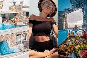 Ewa Chodakowska wypoczywa na Mykonos w ekskluzywnym hotelu. Cena za noc sięga nawet 10 TYSIĘCY ZŁOTYCH!