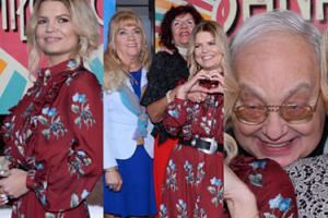 """Marta Manowska i bohaterowie """"Sanatorium miłości"""" promują nowy program TVP (ZDJĘCIA)"""