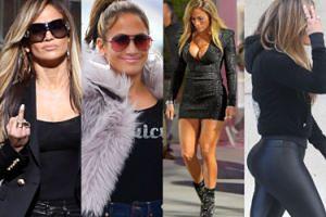 49-letnia pupa Jennifer Lopez kradnie show na planie jej nowego filmu o striptizerkach (ZDJĘCIA)