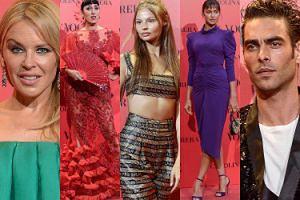 """Kylie Minogue, Magdalena Frąckowiak i Irina Shayk bawią się na urodzinach hiszpańskiego """"Vogue'a"""" (ZDJĘCIA)"""