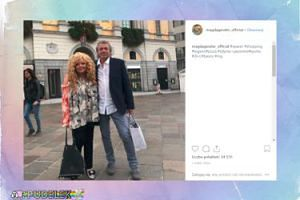 Magda Gessler pozdrawia z Lugano