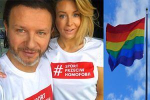 """Majdanowie wspierają akcję przeciw homofobii. Fanka docieka: """"A co, jeśli pani syn przyprowadzi ukochanego do domu?"""""""