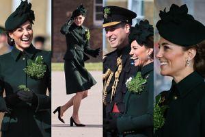 Szczęśliwa księżna Kate z księciem Williamem biorą udział w paradzie z okazji Dnia św. Patryka (ZDJĘCIA)