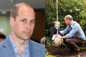 """Książę William naraził się fanom. """"Dlaczego tylko jeden syn jest na zdjęciu?"""""""