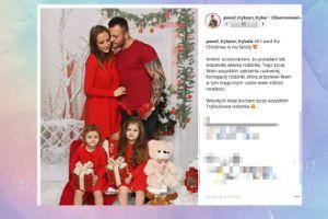 """""""Trybsonowa rodzinka"""" chałturzy na Instagramie z okazji świąt"""