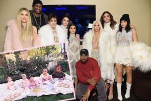 Najmłodsi Kardashianowie razem na jednym zdjęciu: True, Dream, Stormi, Saint i Chicago (FOTO)