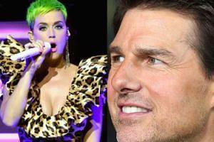 Katy Perry ocierała się o drzewo, udając, że to... Tom Cruise!