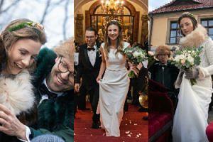 Hrabianka Caroline Alexandra von Hochberg wzięła ślub na zamku Książ w Wałbrzychu! (ZDJĘCIA)
