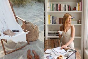 Kasia Tusk na plażę zabrała ręcznik za 5 TYSIĘCY złotych (FOTO)